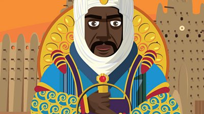 Illustration of Mansa Musa