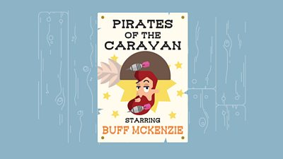a poster for pirates of the caravan