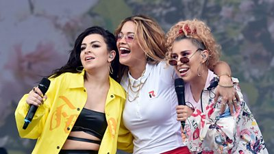#Squadgoals - which stars made friends at the Big Weekend?
