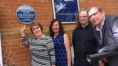 Blue Plaques celebrating your local music legends