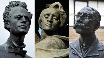Quiz: Can you identify these musicians from their statues?