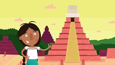 Maya girl in Yax Mutal