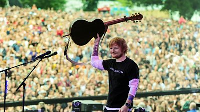 Ed Sheeran: from the bottom of the bill to the top... to opening the Biggest Weekend!