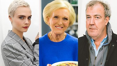 Mary Berry and seven other celebrities you didn't know were drummers