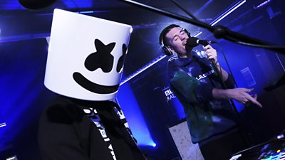 Live Lounge Month: Watch Marshmello and Bastille collaborate