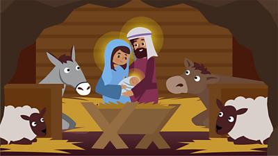 Bitesize - KS2 Religion - Nativity poster image