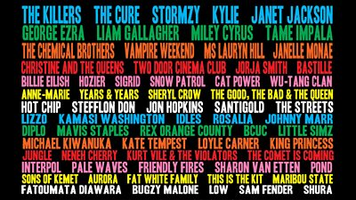 New names added to Glastonbury 2019