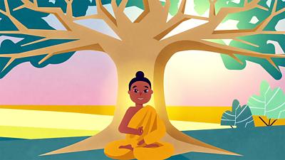 Bitesize - KS2 Religion - What is Buddhism banner