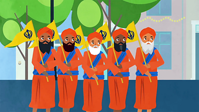 Bitesize - KS2 Religion - What is Vaisakhi banner