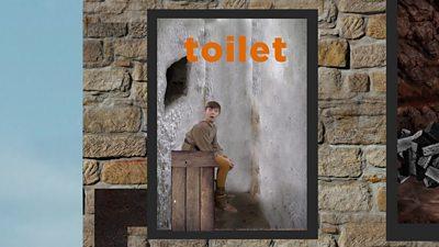 A castle toilet