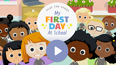 My first day of school - click to play