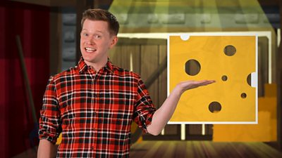2d shapes holding image