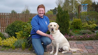 Lynsey Victor Guide Dog PIc