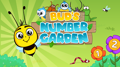 Bud's Number Garden - no play button