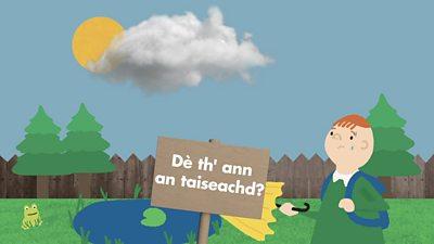 Dè th' ann an taiseachd?