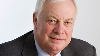 Portrait photograph of Lord Patten