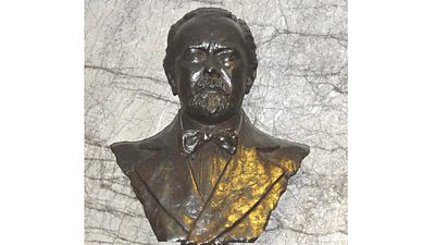 Bust of Sir Henry Wood.