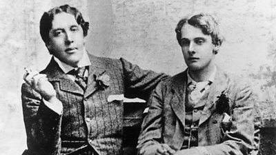 Oscar Wilde and Bosie, pictured in 1893. Image ©Getty Images.