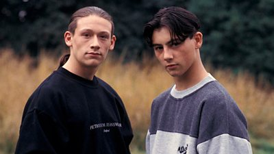 Noddy and Gary, Byker Grove, 1994.