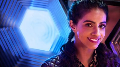 Yaz in Doctor Who