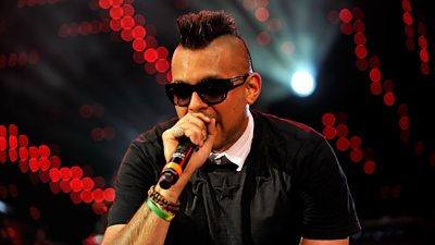 Sean Paul on stage at 1Xtra Live 2013