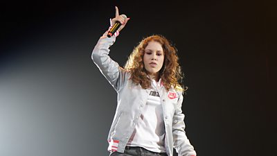 Katy B performs in 2010