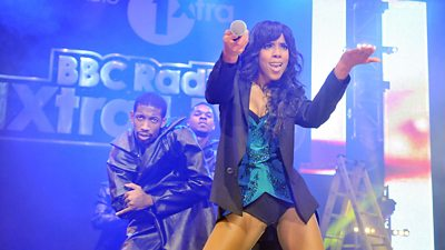 Kelly Rowland performs at 1Xtra Live in 2011