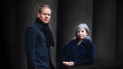 Max Richter and Yulia Mahr