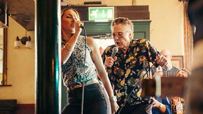 Christopher Walken dancing