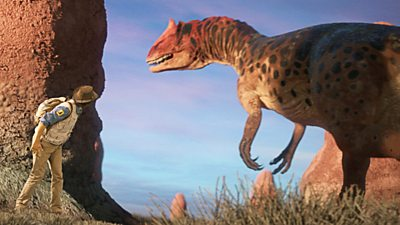 Camptosaurus and Call