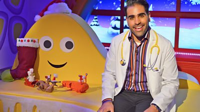 Doctor Ranj - Norman, the Slug who Saved Christmas