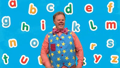 Mr Tumble's Alphabet Song