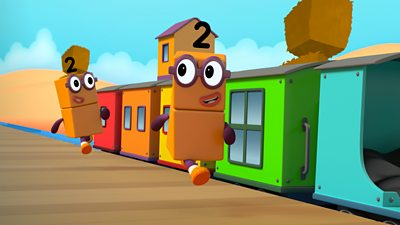 The Numberblocks Express