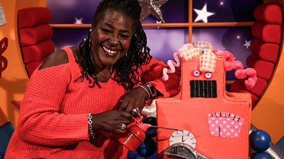 Sharon D Clarke - Rusty the Squeaky Robot