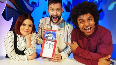 Blue Peter: Awesome Competitions and a Cool Christmas Card