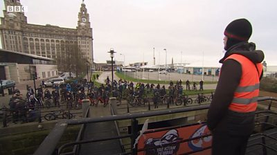 Liver Pedlaa Pool organises bike rides to help youths avoid a life of gangs and crime.