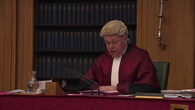 "Judge Lord Pentland said that the Scottish government's actions had been ""unlawful in respect that they were procedurally unfair"" and had been ""tainted with apparent bias""."