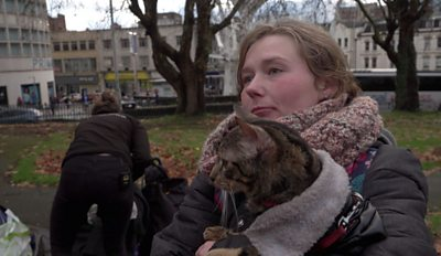 Homeless people have special relationships with their pets - but who looks after them?