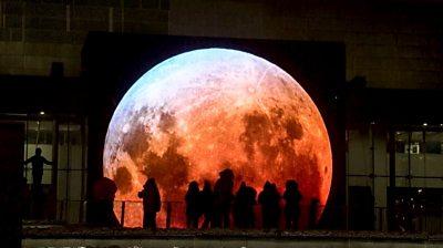 Finland light festival illumination
