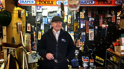 Dave Willis has spent 20 years working in the store