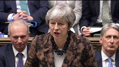 Prime Minister Theresa May has condemned Saturday's bomb attack in Londonderry.