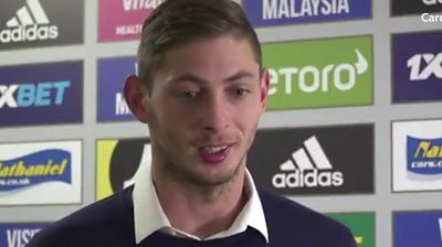 Emiliano Sala: 'I can't wait to start training and get down to work'