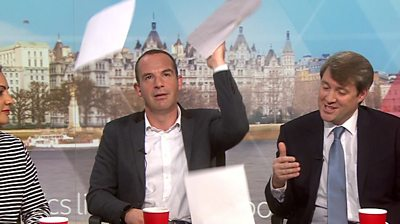 Martin Lewis and Chris Skidmore on Politics Live