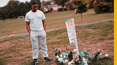 In November 2017, 16-year-old Jhemar Jonas's brother Michael was stabbed to death in south London. Nobody has been convicted of the 17-year-old's murder.