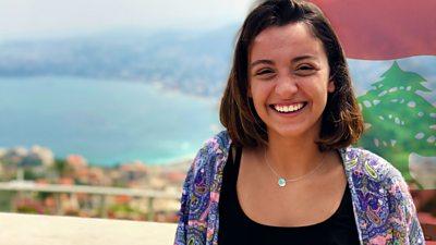 Tiffany lives in Beirut, Lebanon