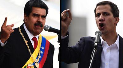 Maduro and Guaido
