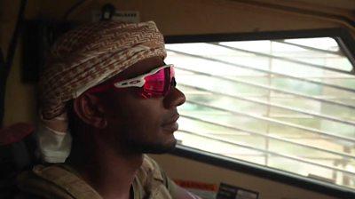 Emerati soldier in Hudaydah