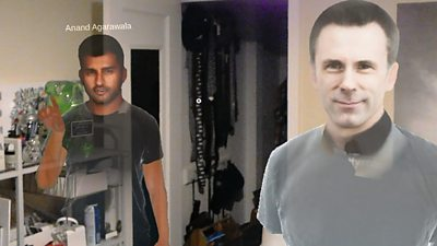 Avatars generated by collaborative augmented reality platform Spatial