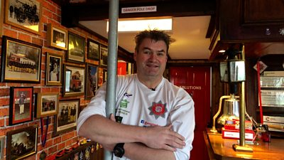 Shed of the Year finalist is fire station-themed pub