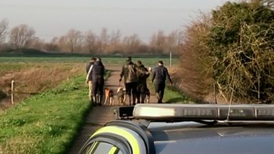 Suspected hare coursers